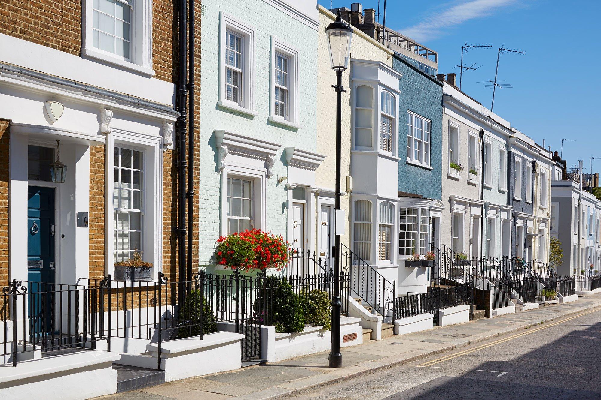 Row houses England