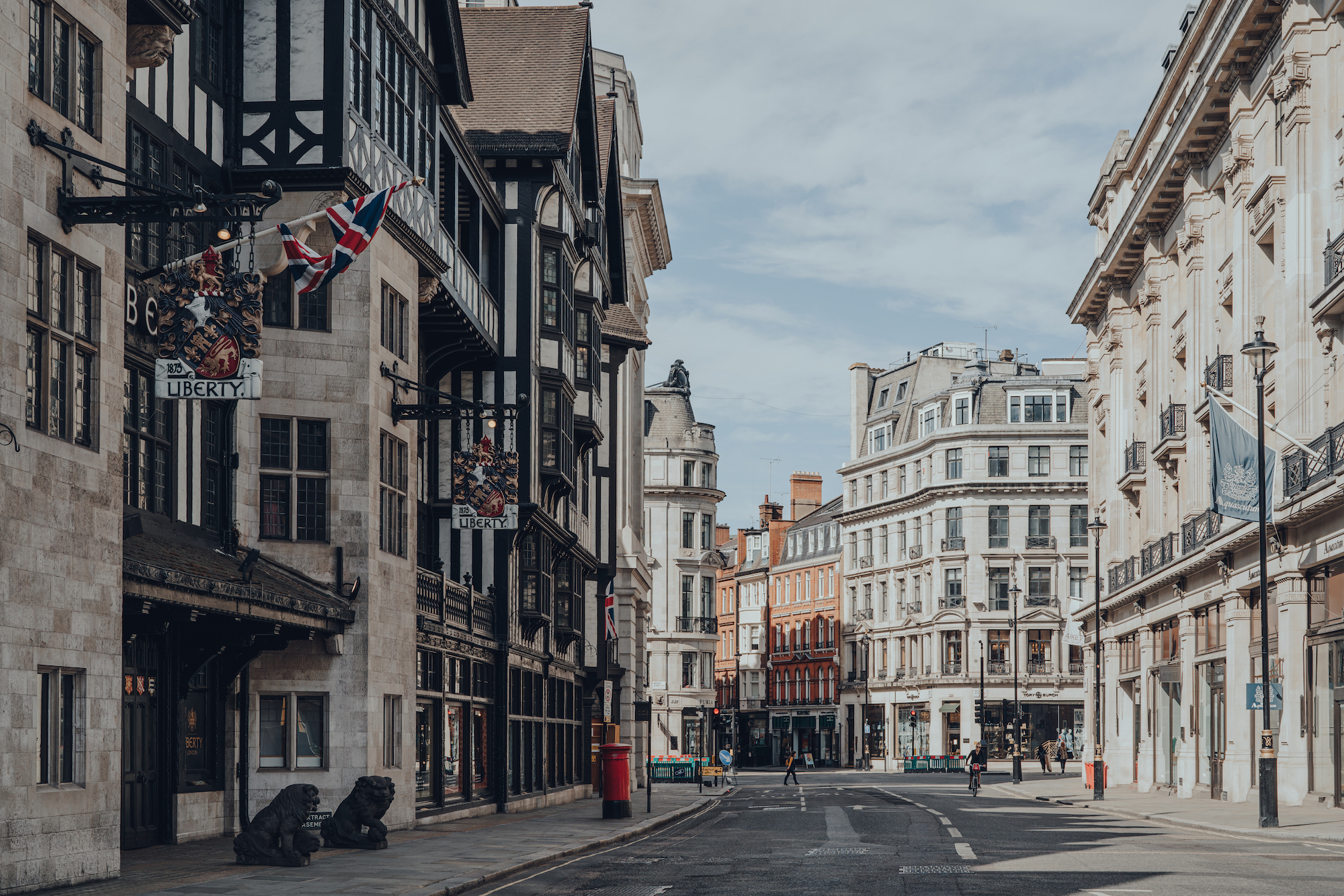 Empty London streets