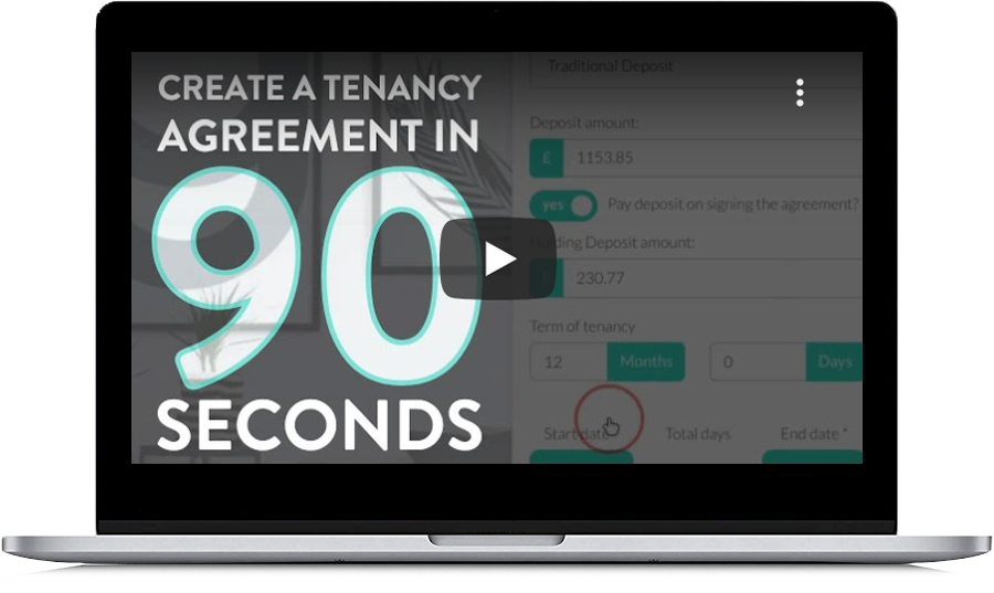 Create a tenancy agreement in 90 seconds